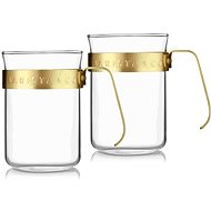 Barista & Co set of 2 cups Midnight Gold - Mug