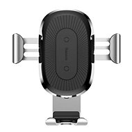 Baseus Wireless Charger Gravity Car Mount Silver - Wireless Charger