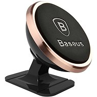 Baseus 360-degree Rotation Magnetic Mount Holder, Rose Gold - Mobile Phone Holder