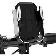 Baseus Armor Motorcycle and Bicycle Holder Silver - Mobile Phone Holder
