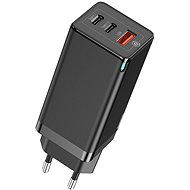 Baseus GaN Quick Travel Charger 65W Black - AC Adapter