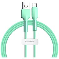 Baseus Silica Gel Cable USB to Type-C (USB-C) 2m Green - Data Cable