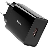 AC Adapter Baseus Speed Mini Quick Charge 3.0 18W Black - Nabíječka do sítě