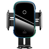 Baseus Light Electric Car Holder Wireless Charger 15W Black - Wireless Charger