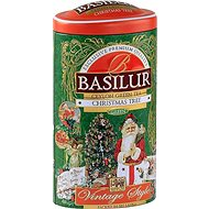 BASILUR Vintage Christmas Tree Tin, 100g - Tea