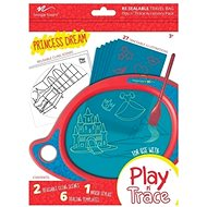Boogie Board Play and Trace - Princess Dreams, Removable Template - Template