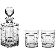 Bohemia TIMESQUARE Crystal Whiskey Set, 3pcs - Whisky Set