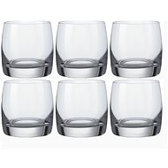 Bohemia IDEAL Crystal Liqueur Glasses, 6cl, 6pcs - Glass for Cold Drinks