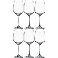 Bohemia Crystal Red Wine Glass GISELLE 455ml 6-piece set - Wine Glasses