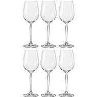 Bohemia KEIRA Crystal White Wine Glasses, 340ml, 6pcs