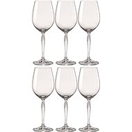 Bohemia KEIRA Crystal White Wine Glasses 440ml, 6pcs - Wine Glasses