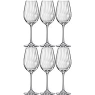 Bohemia Crystal WATERFALL Red Wine Glass 6-piece set - Wine Glasses