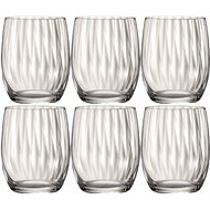 Bohemia Crystal Whiskey Glass WATERFALL 300ml 6-piece set - Whiskey Glasses