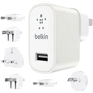 Belkin USB 230V MIXIT Metallic Travel Kit white - Charger