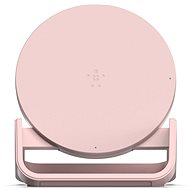 Belkin Boost Up Bold Qi Wireless Charging Stand Pink - Wireless Charger Stand