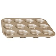 BerlingerHaus My Bronze Pastry Non-stick Muffin/ Cupcake Mould Tray - Baking Mould
