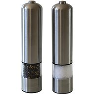 Berndorf Sandrik Set of Electric Salt + Pepper Grinders - Electric Spice Grinder