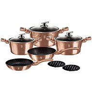 BerlingerHaus Copper Metallic Line 10pcs BH-1220 - Cookware Set