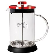 BerlingerHaus Tea and Coffee Tea French Press 350ml Burgundy Metallic Line - Kettle
