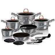 BerlingerHaus Moonlight Edition BH-6022 15pcs - Cookware Set