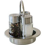 Berndorf Sandrik 3-piece Salt, Pepper and Toothpick Set