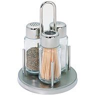 Berndorf Sandrik 3-piece Salt, Pepper and Toothpicks Set