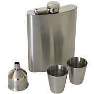 Berndorf Sandrik Hip Flask, 240ml, Flask + 2 Cups - Thermos