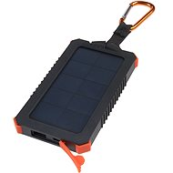 Xtorm Solar Charger Impulse 5000mAh incl. flashlight - Powerbank