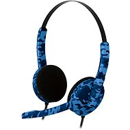Bigben PS4HEADSETCAMOB blue camouflage - Headset