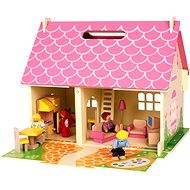 Bigjigs Portable wooden doll house - Doll Accessory