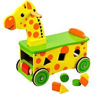 Bigjigs Wooden Giraffe Ride on - Game set
