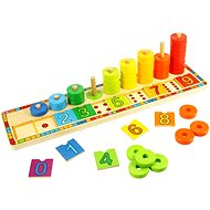 Bigjigs Toys Learn to Count - Educational Wooden Counting Toy - Educational Toy