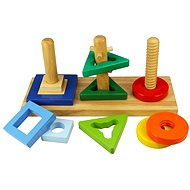 Wooden Toy - Place and Turn - Educational toy