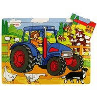 Wooden puzzle – Tractor - Puzzle
