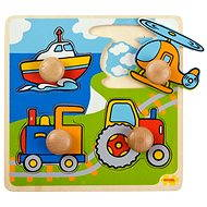 Wooden Insertion Puzzle - Transportation - Puzzle
