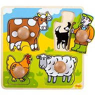 Wooden Insertion Puzzle - Farm - Puzzle