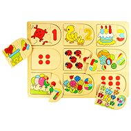 Picture and Number Matching Puzzle - Puzzle