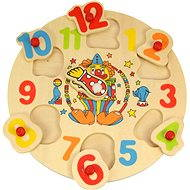 Wooden Puzzle - Clock and Clown - Puzzle