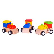 Colorful wind-up engine - Toy train