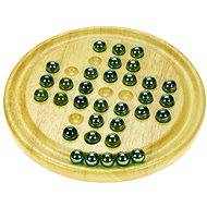 Wooden Childrens Game - Solitaire - Game