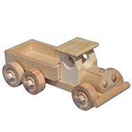 Wooden Flatbed Truck - Train Tracks Accessories