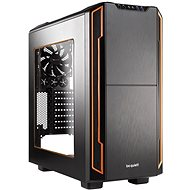 Be quiet! SILENT BASE 600 Transparent side/orange - PC Case