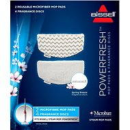 Bissell 2 Shoes and Supplementary Fragrance for Steam Mop with Powerfresh 1016E Fragrance - Accessories