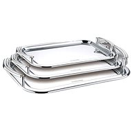 Blaumann Stainless-steel Serving Tray Set 3pcs - Tray