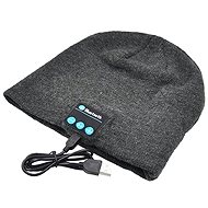 Dolirox Knit Hat with Bluetooth Speakers, light grey - Cap