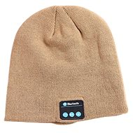 Dolirox Knit Hat with Bluetooth Speakers, khaki - Cap