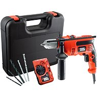 Black & Decker CD714CRESKD + detector - Hammer drill