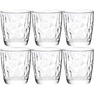BORMIOLI DIAMOND Jars 300ml clear, 6-pack - Glass Set