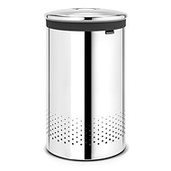 Brabantia Laundry basket 60l bright steel - Laundry Basket