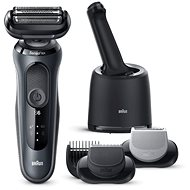 BRAUN Series 6 7650cc, Black - Electric Razor